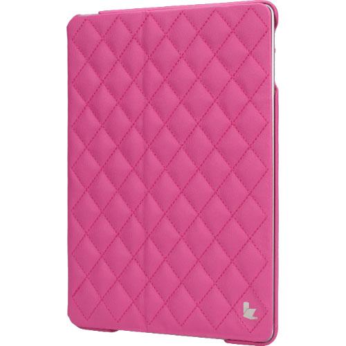 Чехол Jison Matelasse Case для iPad Air розовыйЧехлы для iPad Air<br>Чехол Jison Matelasse Case - это чистые линии и высокая функциональность, простота и технологичность, элегантность и универсальный дизайн.<br><br>Цвет товара: Розовый<br>Материал: Натуральная кожа, поликарбонат