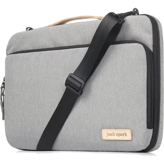 Сумка Jack Spark Tissue Bag для MacBook 15 сераяСумки для ноутбуков<br>В этой, с виду небольшой, сумке уместится действительно большое количество разнообразных вещей!<br><br>Цвет товара: Серый<br>Материал: Полиэстер