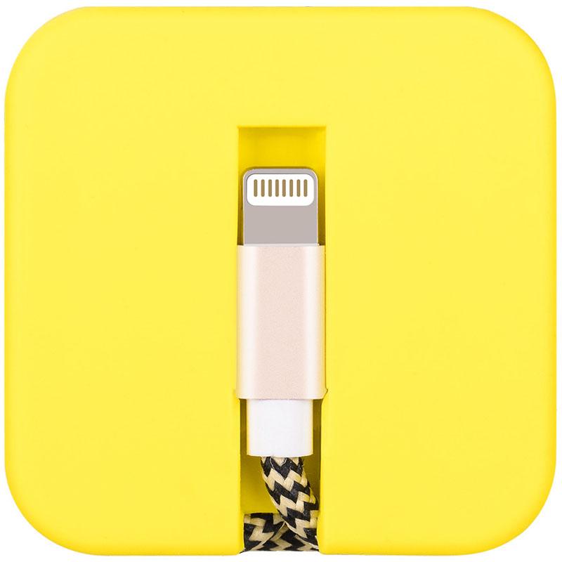 Кабель Hoco U4 Silica Assemble Lightning Charging Cable жёлтыйКабели и переходники<br>Невероятно удобный кабель для зарядки и синхронизации гаджетов Apple.<br><br>Цвет товара: Жёлтый<br>Материал: Нейлон, силикон