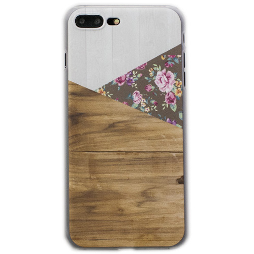 Чехол iPapai «Wood» (Шебби Шик) для iPhone 7 PlusЧехлы для iPhone 7 Plus<br>Стильный и надёжный чехол iPapai с уникальным дизайнерским принтом.<br><br>Цвет товара: Разноцветный<br>Материал: Пластик