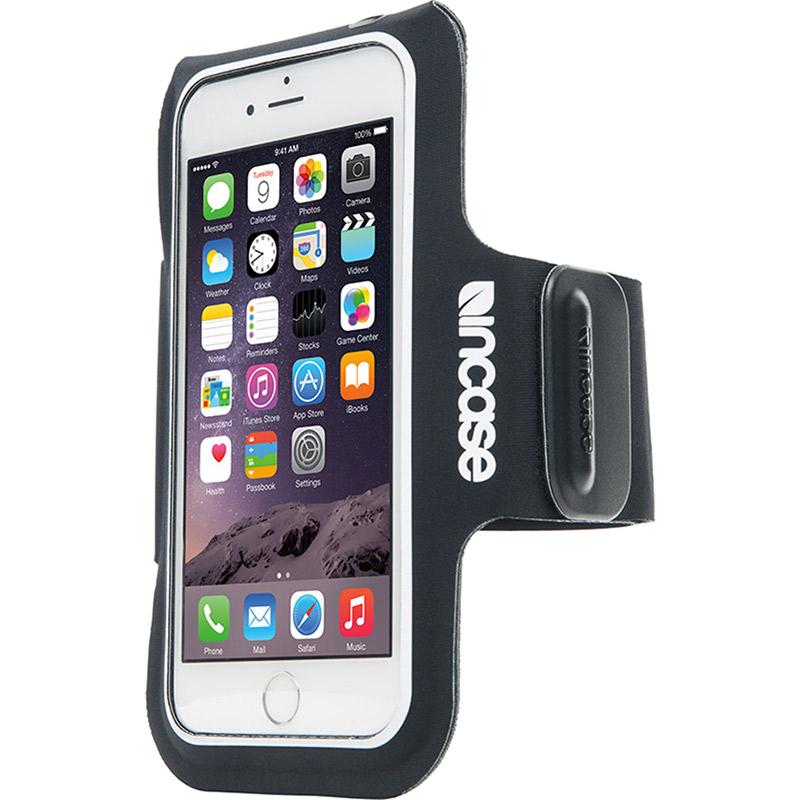 Чехол Incase Active Armband для iPhone 6/iPhone 6s/iPhone 7 чёрныйЧехлы для iPhone 6/6s<br>Спортивный чехол на руку incase Armband для iPhone 6 серый<br><br>Цвет товара: Чёрный<br>Материал: Неопрен, текстиль<br>Модификация: iPhone 4.7
