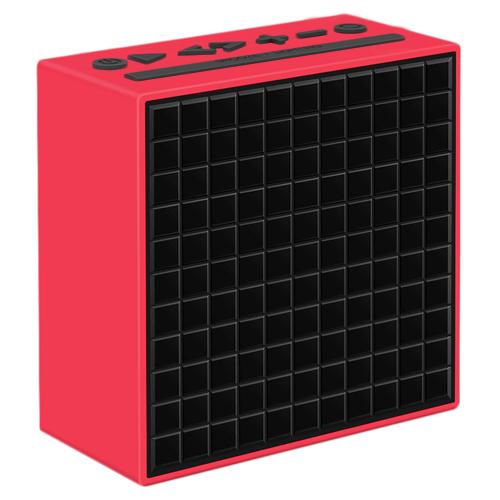 Акустическая система Divoom TimeBox краснаяКолонки и акустика<br>Акустическая система Divoom TimeBox красная<br><br>Цвет товара: Красный<br>Материал: Пластик