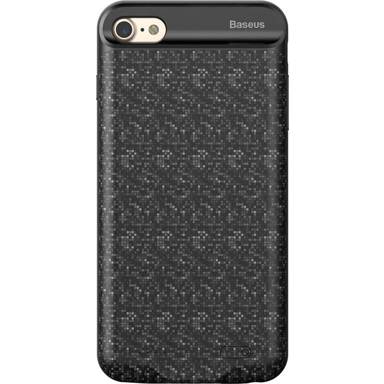 Чехол-аккумулятор Baseus Plaid Backpack Power Bank 2500 mAh для iPhone 7 чёрныйЧехлы для iPhone 7<br>Стильный и надежный чехол от Baseus обеспечит ваш iPhone 100% защитой и энергией!<br><br>Цвет товара: Чёрный<br>Материал: Полиуретан, поликарбонат<br>Модификация: iPhone 4.7