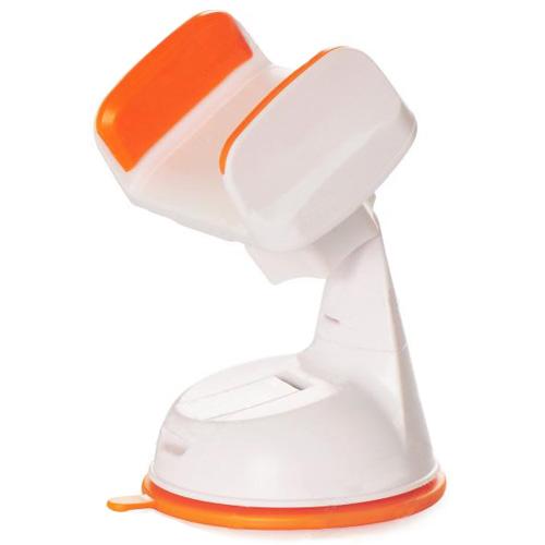 Автомобильный держатель Silicone Sucker 360 оранжевыйАвтодержатели<br>Надёжный и компактный автодержатель Silicone Sucker 360.<br><br>Цвет товара: Оранжевый<br>Материал: Пластик, силикон