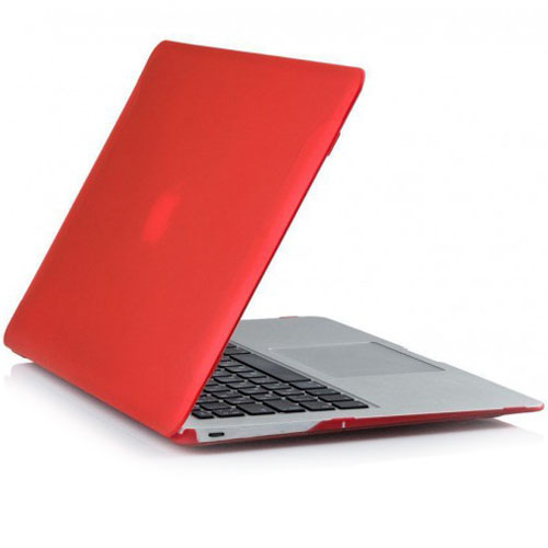 "Чехол BTA-Workshop Velvet Polycarbonate Shell для MacBook 12"" Retina красный"