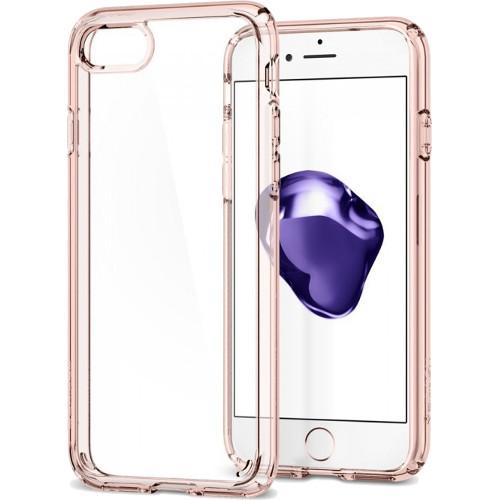 Чехол Spigen Ultra Hybrid 2 для iPhone 7 (Айфон 7) кристально-розовый (SGP-042CS20924)Чехлы для iPhone 7<br>Чехол Spigen Ultra Hybrid 2 — это идеальный чехол для тех, кто ценит лаконичный дизайн и максимальную защиту смартфона.<br><br>Цвет товара: Розовый<br>Материал: Термопластичный полиуретан, поликарбонат