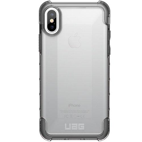 Чехол UAG PLYO Series Case для iPhone X прозрачныйЧехлы для iPhone X<br>UAG PLYO прошел независимые тесты и сертифицирован в соответствии с военным стандартом США!<br><br>Цвет товара: Прозрачный<br>Материал: Поликарбонат, термопластичный полиуретан