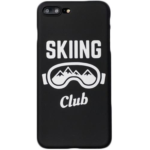 Чехол iPapai «Ski» (Маска) для iPhone 7 PlusЧехлы для iPhone 7 Plus<br>Стильный и надёжный чехол iPapai с уникальным дизайнерским принтом.<br><br>Цвет товара: Чёрный<br>Материал: Пластик