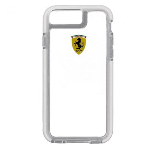 Чехол Ferrari Shockproof Hard PC для iPhone 7 Plus (Айфон 7 Плюс) прозрачныйЧехлы для iPhone 7 Plus<br>Чехол Ferrari для iPhone 7 Plus Shockproof Hard PC Transperent<br><br>Цвет товара: Прозрачный<br>Материал: Полкикарбонат, резина
