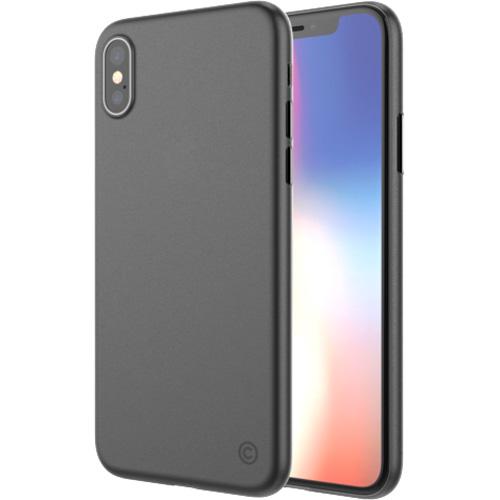 Чехол LAB.C Ultraslim 0.4 для iPhone X матовый чёрныйЧехлы для iPhone X<br>С минималистичным LAB.C Ultraslim 0.4 вы практически не прибавите вес вашему iPhone X, ведь толщина чехла всего 0.4 мм!<br><br>Цвет: Чёрный<br>Материал: Пластик