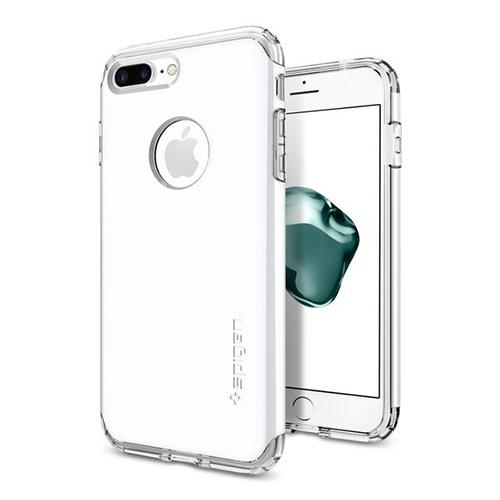 Чехол Spigen Hybrid Armor для iPhone 7 и 8 Plus ультрабелый (SGP-043CS21046)Чехлы для iPhone 7 Plus<br>Spigen Hybrid Armor превосходно справится с ежедневными трудностями!<br><br>Цвет товара: Белый<br>Материал: Поликарбонат, полиуретан