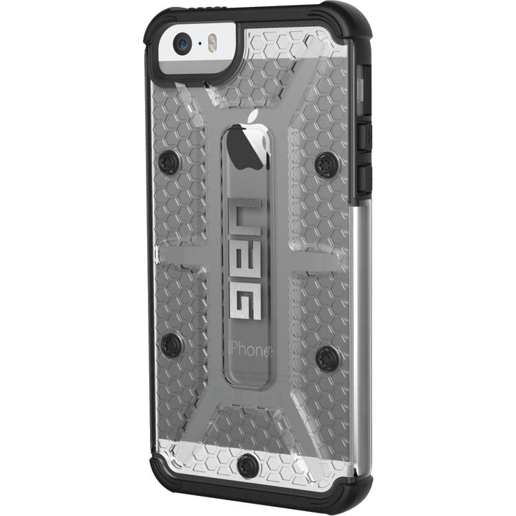 Чехол UAG Plasma Series Case для iPhone 5/5S/SE прозрачный IceЧехлы для iPhone 5/5S/SE<br>Каждый чехол UAG Plasma Series Case прошел независимые тесты и был сертифицирован в соответствии высоким стандартам MIL-STD 810G/<br><br>Цвет: Прозрачный<br>Материал: Пластик