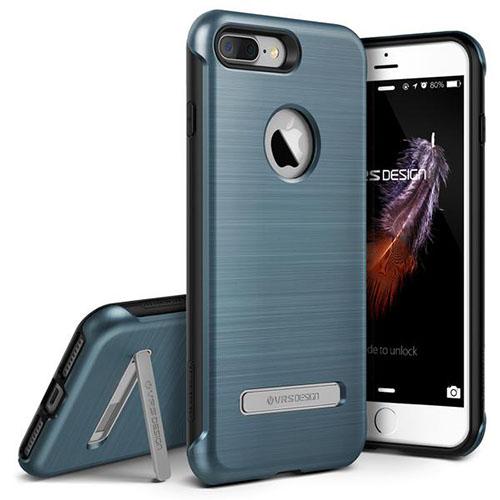 Чехол Verus Duo Guard для iPhone 7 Plus (Айфон 7 Плюс) синий (VRIP7P-DGDBB)Чехлы для iPhone 7 Plus<br>Чехол Verus для iPhone 7 Plus Duo Guard, стальной голубой (904653)<br><br>Цвет товара: Синий<br>Материал: Полкикарбонат, полиуретан