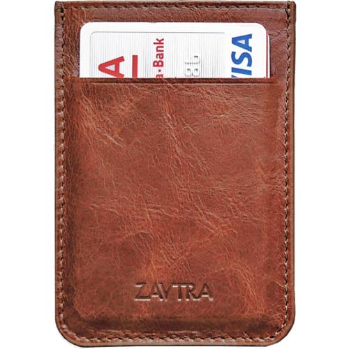 Минималистичный кошелек ZAVTRA коричневый от iCases