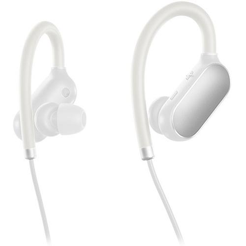 Беспроводные наушники Xiaomi Mi Sports Bluetooth белыеВнутриканальные наушники<br>Xiaomi Mi Sports Bluetooth - лёгкие и удобные беспроводные наушники!<br><br>Цвет товара: Белый<br>Материал: Пластик, силикон
