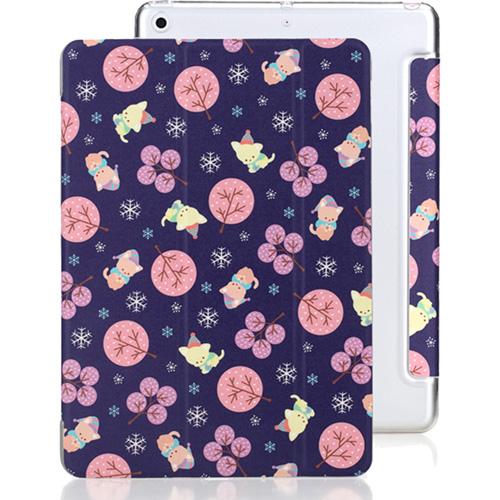 Чехол Rock Annes Garden Series для iPad 9.7 (2017) фиолетовый (Деревья)Чехлы для iPad 9.7 (2017)<br>Мягкая полиуретановая кожа устойчива к появлению царапин и пятен, что надолго сохранит красивый внешний вид чехла.<br><br>Цвет товара: Фиолетовый<br>Материал: Полиуретановая кожа, пластик