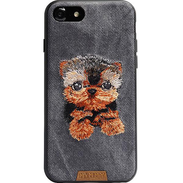 Чехол Nimmy Pet Denim для iPhone 7 / iPhone 8 (Йорк) серыйЧехлы для iPhone 7<br>Nimmy Pet Denim продемонстрирует окружающим ваш безупречный вкус!<br><br>Цвет: Серый<br>Материал: Пластик, силикон, текстиль