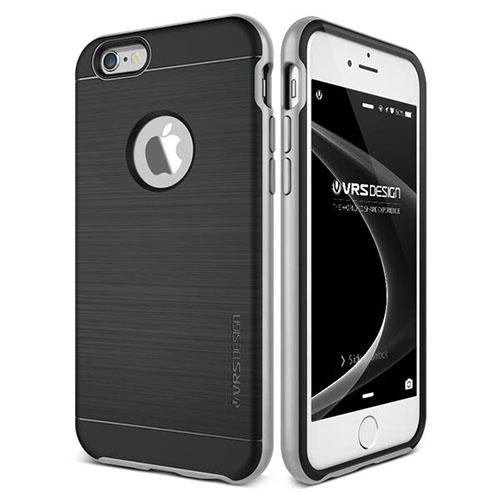 Чехол Verus High Pro Shield для iPhone 6S/6 серебристый (VRI6S-NHPSSS)Чехлы для iPhone 6/6s<br>Чехол Verus New High Pro Shield для iPhone 6S/6 серебристый (904485)<br><br>Цвет товара: Серебристый<br>Материал: Поликарбонат, полиуретан