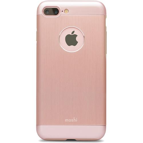 Чехол Moshi Armour для iPhone 7 Plus (Айфон 7 Плюс) розовыйЧехлы для iPhone 7 Plus<br>Moshi Armour заключает в себе непревзойденный внешний вид и надежную защиту для Айфон.<br><br>Цвет товара: Розовый<br>Материал: Металл, поликарбонат