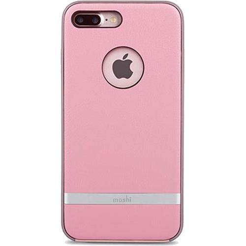 Чехол Moshi Napa для iPhone 7 Plus (Айфон 7 Плюс) розовыйЧехлы для iPhone 7 Plus<br>Чехол Moshi Napa для iPhone 7 Plus - Melrose Pink розовый<br><br>Цвет товара: Розовый<br>Материал: Поликарбонат, полиуретановая кожа