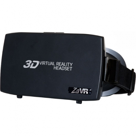 Шлем виртуальной реальности UltraZaVR (VR61)Очки виртуальной реальности<br>Очки (Маска) виртуальной реальности UltraZaVR (VR61)<br><br>Цвет товара: Чёрный<br>Материал: Пластик, текстиль