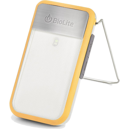 Фонарь BioLite PowerLight Mini с аккумулятором жёлтыйПоходные приборы от BioLite<br>Фонарь BioLite PowerLight Mini с аккумулятором жёлтый<br><br>Цвет товара: Жёлтый<br>Материал: Металл, пластик