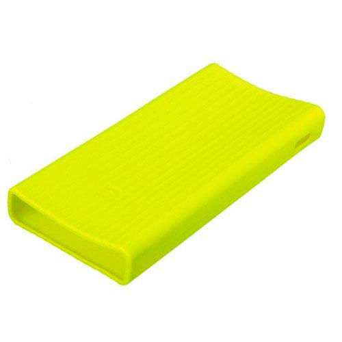 Силиконовый чехол Xiaomi Silicone Protector Sleeve для аккумулятора Mi Power Bank 2 (20000 мАч) зелёныйВнешние аккумуляторы<br>Xiaomi Silicone Protector Sleeve — защита и украшение для вашего аккумулятора!<br><br>Цвет товара: Зелёный<br>Материал: Силикон