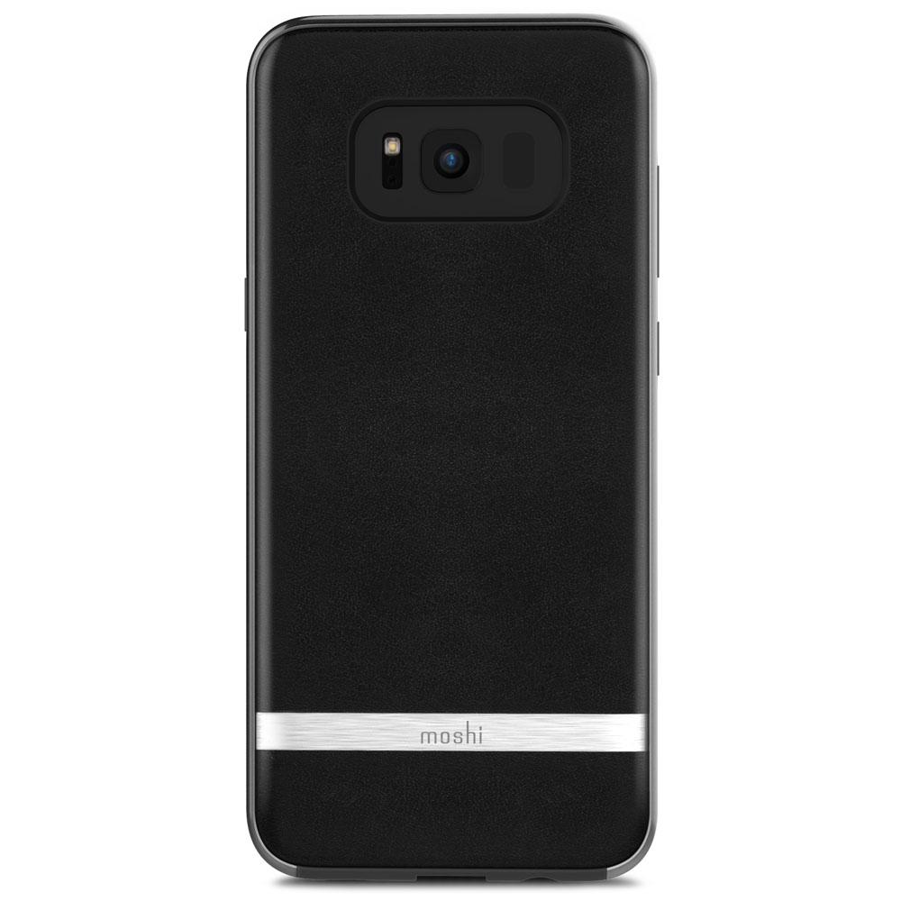 Чехол Moshi Napa для Samsung Galaxy S8 чёрныйЧехлы для Samsung Galaxy S8/S8 Plus<br>Moshi Napa - стильный и надёжный чехол для Samsung Galaxy S8.<br><br>Цвет товара: Чёрный<br>Материал: Веган кожа, поликарбонат