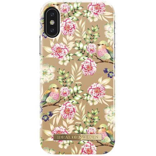 Чехол iDeal of Sweden Fashion Case для iPhone X (Champagne Birds)Чехлы для iPhone X<br>Чехол iDeal of Sweden Fashion Case станет истинным украшением самого лучшего смартфона!<br><br>Цвет товара: Разноцветный<br>Материал: Пластик, замша