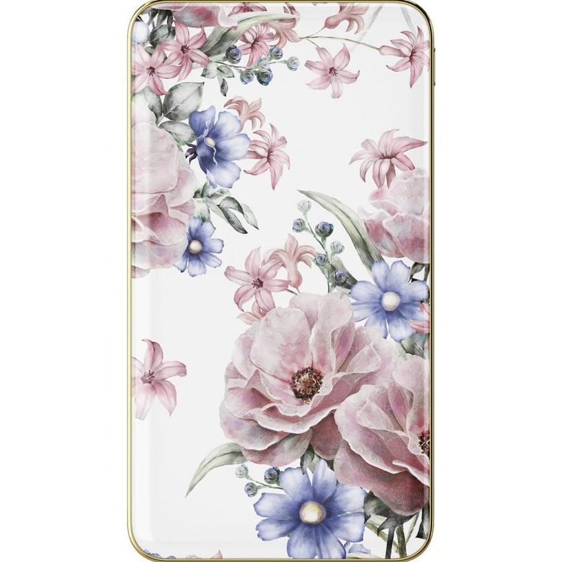 Внешний аккумулятор Ideal of Sweden Fashion Power Bank на 5000 мАч Floral RomanceДополнительные и внешние аккумуляторы<br>Мощный, тонкий и лёгкий внешний аккумулятор, который обладает по-настоящему ярким дизайном!<br><br>Цвет: Белый<br>Материал: Пластик, алюминий