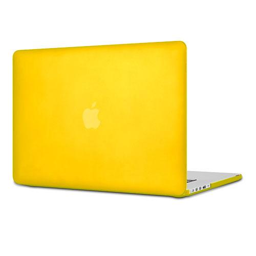 Чехол Crystal Case для MacBook Pro 15 Retina ЖелтыйMacBook Pro<br>Чехол Crystal Case для MacBook Retina 15 желтый<br><br>Цвет: Жёлтый<br>Материал: Поликарбонат