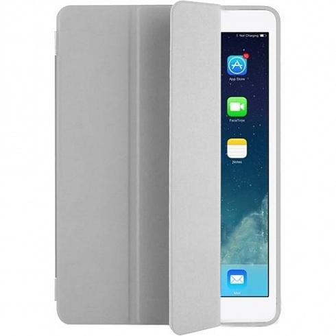 Чехол YablukCase для iPad Pro 12.9 (2017) серыйЧехлы для iPad Pro 12.9<br>Надежный чехол YablukCase — это стильное дополнение к вашему iPad Pro 12.9 (2017).<br><br>Цвет товара: Серый<br>Материал: Эко-кожа, пластик