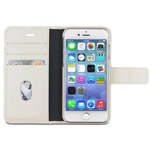 Чехол Dbramante1928 Copenhagen 2 для iPhone 7 белыйЧехлы для iPhone 7<br>Чехол Dbramante1928 Copenhagen 2 для iPhone 7 белый<br><br>Цвет товара: Белый<br>Материал: Натуральная кожа, поликарбонат