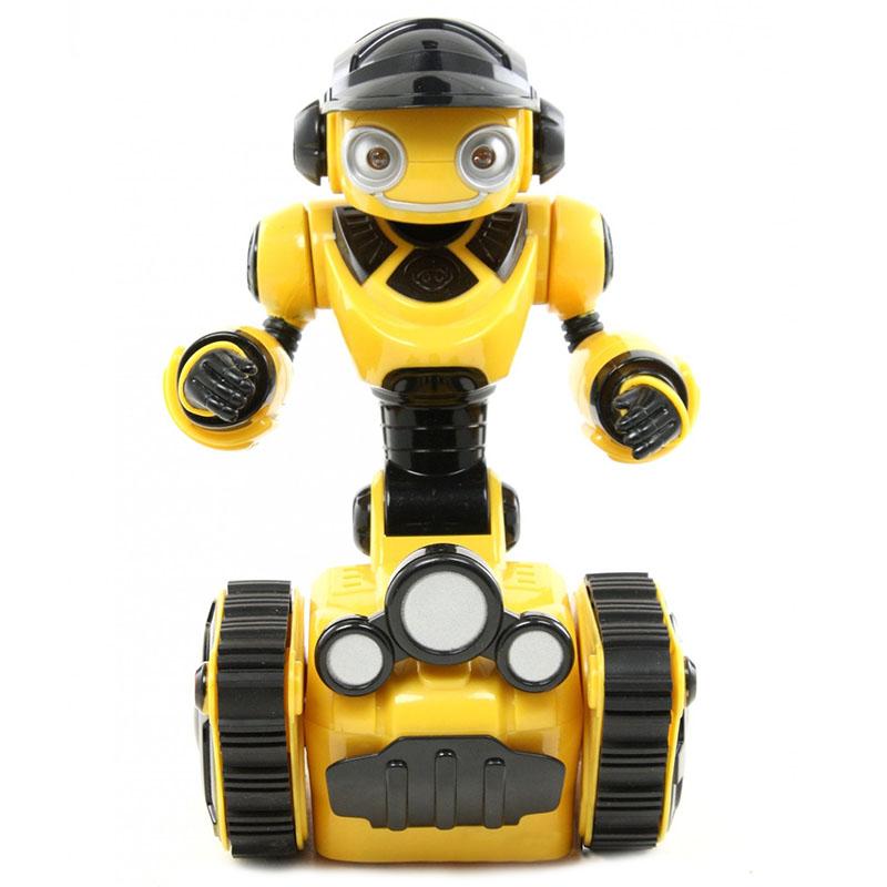 Мини-робот WowWee Roborover (8406)Роботы<br>Младший брат интерактивного робота-исследователя Roborover.<br><br>Цвет товара: Жёлтый<br>Материал: Пластик
