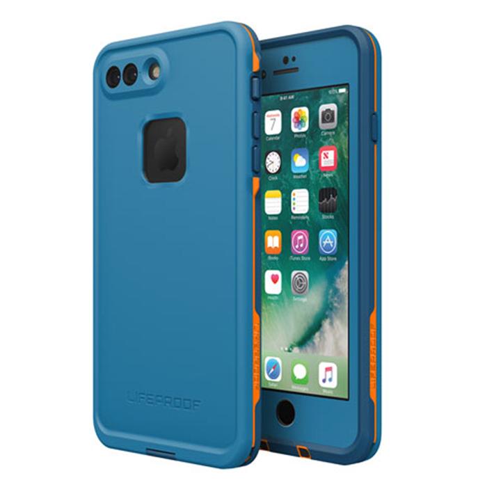 Чехол Lifeproof Fre для iPhone 7 Plus синийЧехлы для iPhone 7 Plus<br>Lifeproof Fre для iPhone 7 Plus — водонепроницаемый и максимально лёгкий, прочный чехол.<br><br>Цвет товара: Синий<br>Материал: Пластик
