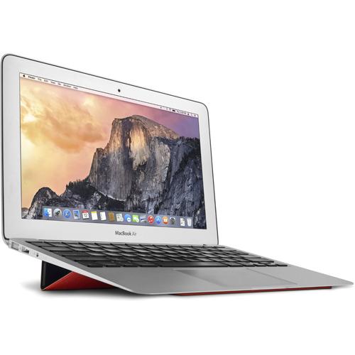 Подставка Twelve South BaseLift для MacBook краснаяПодставки для Mac<br>Подставка Twelve South BaseLift для ноутбуков Apple — это сверхтонкая панель из слоеной микрофибры, которая крепится к нижней части любой модели MacBook.<br><br>Цвет товара: Красный<br>Материал: Микрофибра