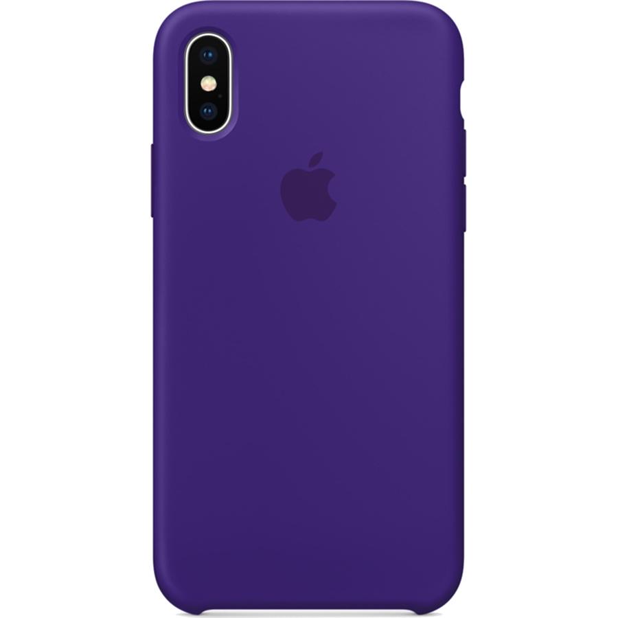 Силиконовый чехол Apple Silicone Case для iPhone X «Ультрафиолет» (Ultra Violet)Чехлы для iPhone X<br>Силиконовый чехол от Apple — отличное дополнение к вашему iPhone X.<br><br>Цвет товара: Фиолетовый<br>Материал: Силикон