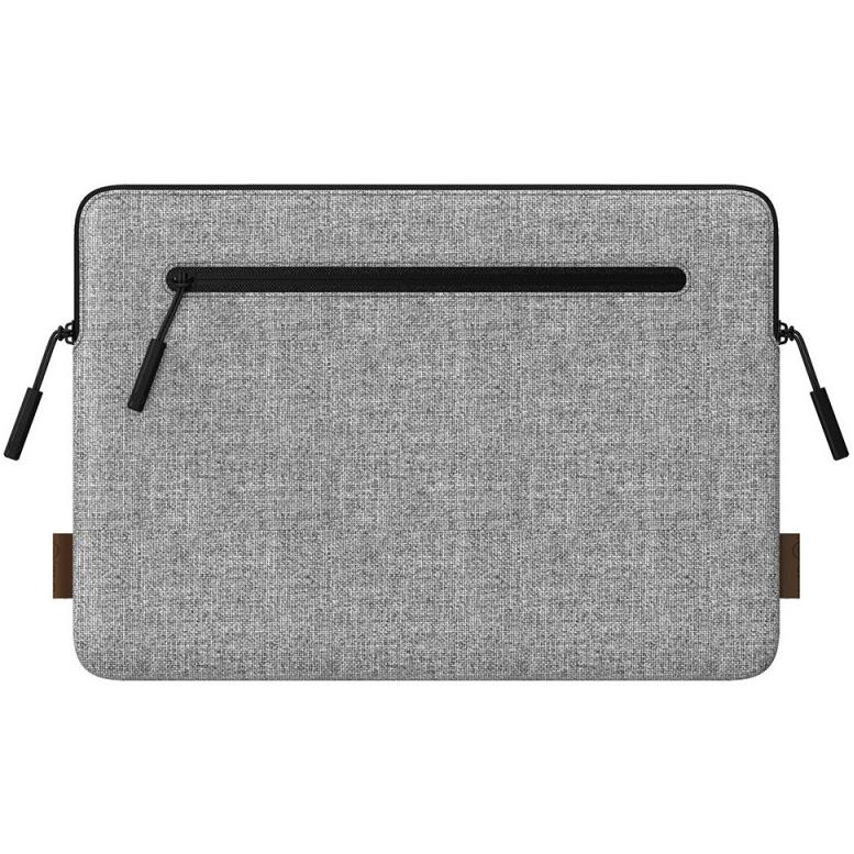 Чехол LAB.C Slim Fit для MacBook 13 светло-серыйЧехлы для MacBook Air 13<br>LAB.C Slim Fit — отличный чехол для защиты и транспортировки ноутбука!<br><br>Цвет товара: Серый<br>Материал: Текстиль, полиуретановая кожа