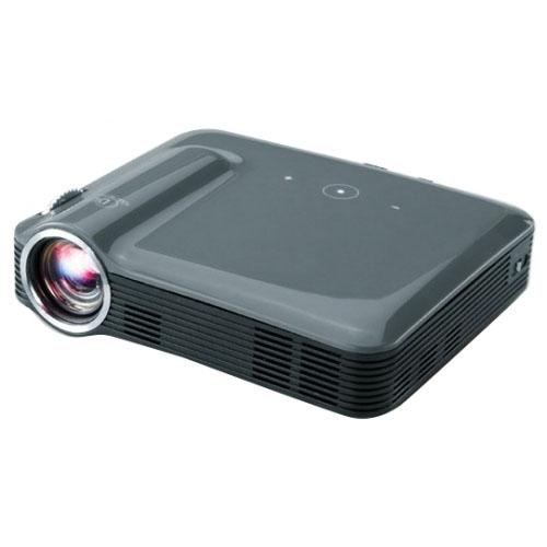 Видеопроектор Brookstone Pocket Projector Pro 200 LumensВидеопроекторы<br>Brookstone Pocket Projector Pro 200 Lumens поразит Вас миниатюрными размерами и качеством изображения!<br><br>Цвет товара: Чёрный<br>Материал: Пластик, металл