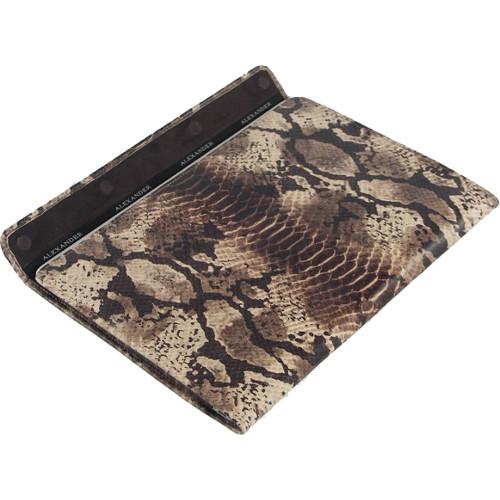 """Чехол-конверт Alexander для MacBook 12"""" Retina питон коричневый"""