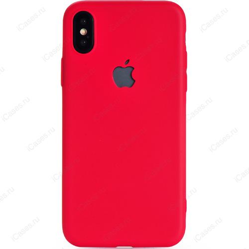 Чехол Gurdini Ultra Slim Silicone Case для iPhone X красныйЧехлы для iPhone X<br>Тонкий и невероятно легкий, словно перо, силиконовый чехол Gurdini Ultra Slim Silicone Case повторяет плавные контуры вашего iPhone Х.<br><br>Цвет товара: Красный<br>Материал: Силикон