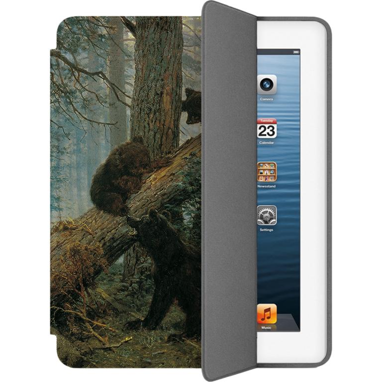 Чехол Muse Smart Case для iPad 2/3/4 Мишки в ЛесуЧехлы для iPad 1/2/3/4<br>Чехлы Muse — это индивидуальность, насыщенность красок, ультрасовременные принты и надёжность.<br><br>Цвет: Коричневый<br>Материал: Поликарбонат, полиуретановая кожа