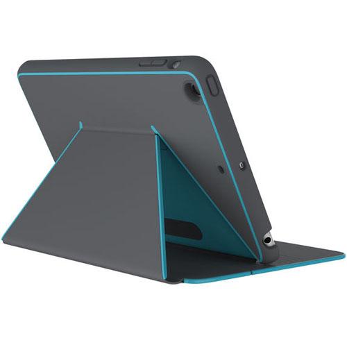 Чехол Speck DuraFolio для iPad Mini 4 тёмно-серыйЧехлы для iPad mini 4<br>Чехол Speck DuraFolio - тонкий защитный чехол для iPad Mini 4.<br><br>Цвет товара: Серый<br>Материал: Поликарбонат, полиуретан
