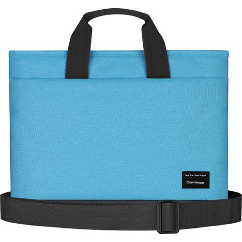Сумка Cartinoe Realshine Shoulder Bag для MacBook 13 голубаяСумки для ноутбуков<br>Cartinoe Realshine Shoulder Bag станет верным спутником активного, делового человека.<br><br>Цвет товара: Голубой<br>Материал: Текстиль (водоотталкивающая ткань)