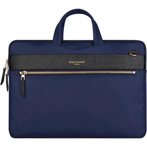 Сумка Cartinoe Tommy Series для MacBook 13 синяяЧехлы для MacBook Air 13<br>Cartinoe Tommy Series — стильная и удобная сумка для ноутбуков с диагональю до 13 дюймов.<br><br>Цвет товара: Синий<br>Материал: Нейлон, полиуретан