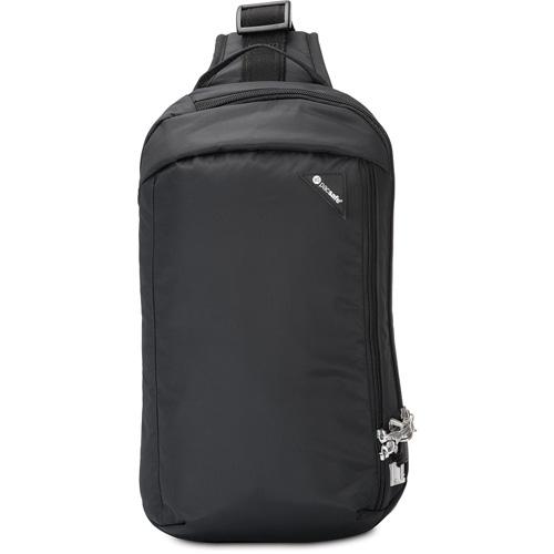 Сумка Pacsafe Vibe 325 чёрнаяСумки и аксессуары для путешествий<br>PacSafe Vibe 325 Black<br><br>Цвет товара: Чёрный<br>Материал: Текстиль, нержавеющая сталь, пластик