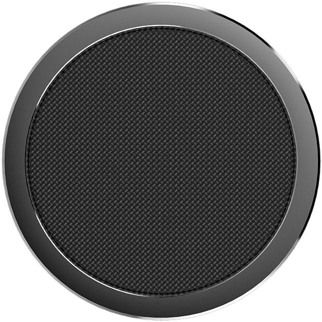 Беспроводное зарядное устройство Rock W4 Quick Wireless Charger (DT-518Q) чёрноеСетевые зарядки<br>С Rock W4  вы сможете зарядить смартфон невероятно быстро!<br><br>Цвет товара: Чёрный<br>Материал: Алюминий, пластик