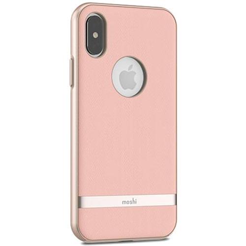 Чехол Moshi Vesta для iPhone X розовыйЧехлы для iPhone X<br>Moshi Vesta — запоминающийся, элегантный и надёжный матерчатый чехол!<br><br>Цвет товара: Розовый<br>Материал: Текстиль (саржа), поликарбонат металлизированный
