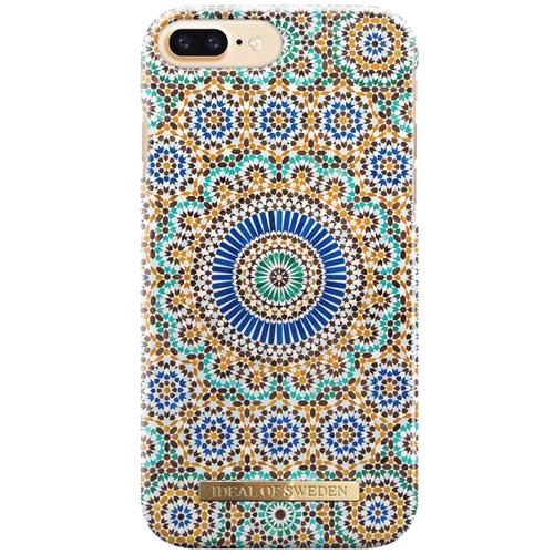 Чехол iDeal of Sweden Fashion Case для iPhone 8 Plus/7 Plus/6 Plus (Moroccan Zellige)Чехлы для iPhone 6/6s Plus<br>Чехол iDeal of Sweden Fashion Case станет истинным украшением самого лучшего смартфона!<br><br>Цвет товара: Разноцветный<br>Материал: Пластик, замша