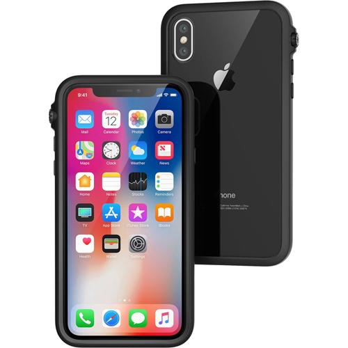 Чехол Catalyst Impact Protection Case для iPhone X чёрныйЧехлы для iPhone X<br>Catalyst Impact Protection Case сочетает в себе высокую степень защиты и идеальную посадку на вашем iPhone X.<br><br>Цвет товара: Чёрный<br>Материал: Поликарбонат, полиуретан, резина